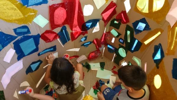 Cultura.- El Aula d'Estiu del Consorci de Museus anima a los niños a desarrollar su sensibilidad artística