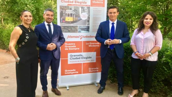 Granada.- 26M.- Ciudadanos propone recuperar el tranvía histórico a la Alhambra