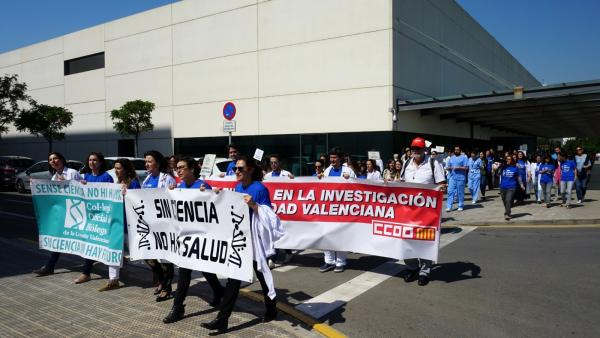 Asociación de Fibrosis Quística se suma a las protestas de trabajadores del IIS La Fe y piden a Puig que les atiendan