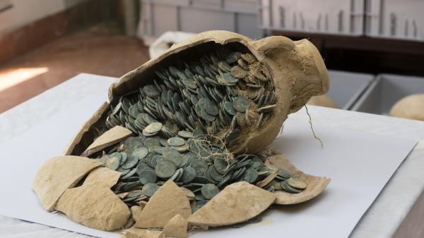 Sevilla.- La consejera de Cultura presenta este jueves las conclusiones del estudio del 'tesoro' romano de Tomares