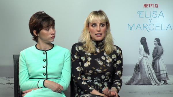 VÍDEO: Natalia de Molina y Greta Fernández protagonizan Elisa y Marcela: 'Muchos países siguen penando amor y libertad'