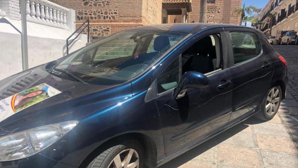 Granada.- 26M.- Vox denuncia daños al coche de un candidato en Almuñécar