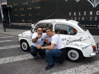 Aficionados del Valencia en un 600