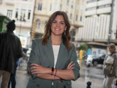 Sandra Gómez, candidata del PSOE a la Alcaldía de València