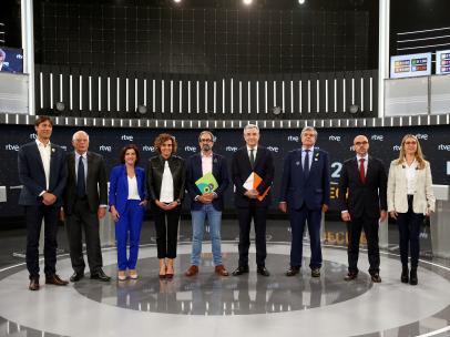 Debate Europeas RTVE