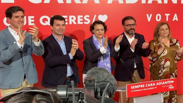 26M.- Valerio Reivindica En Ferrol El Papel De Los Ayuntamientos Y Compromete El Apoyo Del Gobierno Al Candidato De PSOE