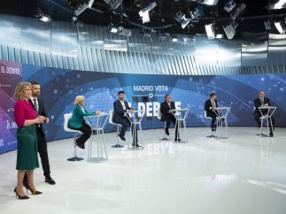 El debate en Telemadrid