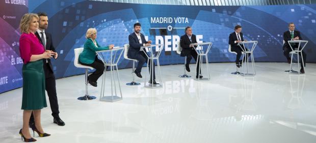El debate por la alcaldía de Madrid, un 'cara a cara' de Carmena y Almeida