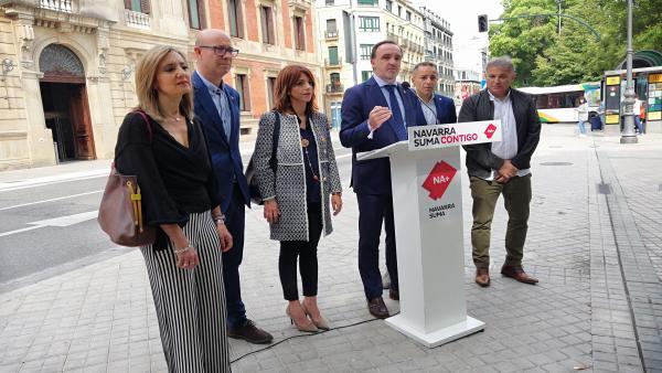 26M.- Esparza Afirma Que 'Quien No Vote A Navarra Suma Está Fortaleciendo El Proyecto Nacionalista De Barkos'