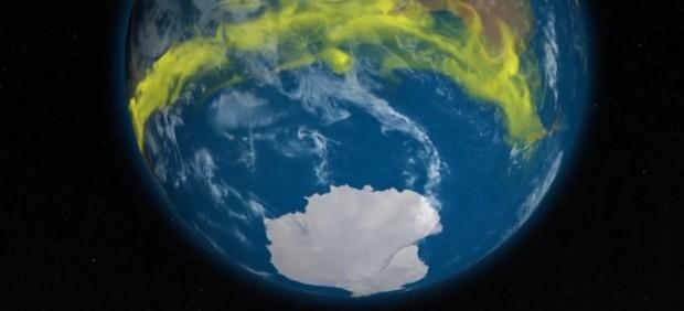 Nuevas emisiones de un gas prohibido CFC que daña la capa de ozono