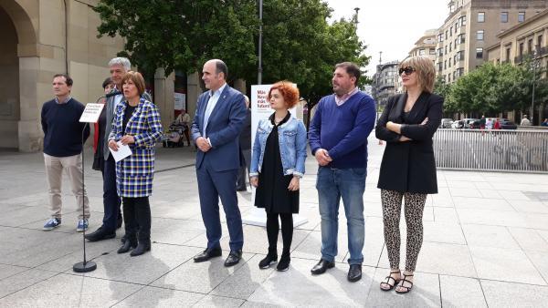 26M.- Barkos Afirma Que 'Las Políticas De Navarra Se Defienden En Los Acuerdos Que Llevemos A Cabo Los Navarros'