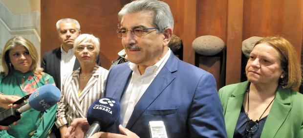 26M.- Rodríguez (NC) apuesta por una 'renta canaria de ciudadanía' para que 'nadie' tenga ingresos menores a 600 euros