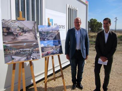 Jaén.- La primera fase del centro comercial Jaén Plaza se inaugurará 'en septiembre' tras una inversión de 30 millones