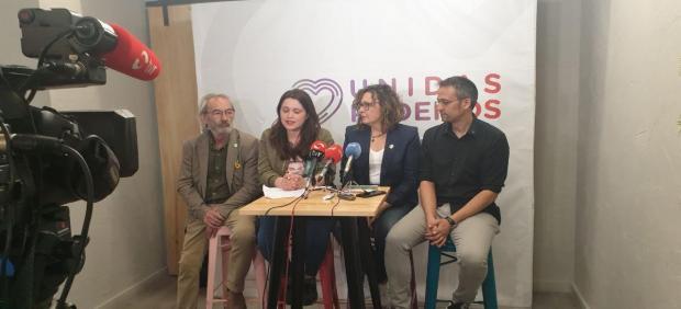 26M.- Unidas Creará Un Área De Feminismo Y LGTBI Que Influirá De Forma 'Trasversal' En Todas Las Actuaciones