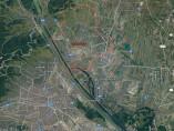 Mapa de Viena, donde se observa el distrito de Floridsdorf