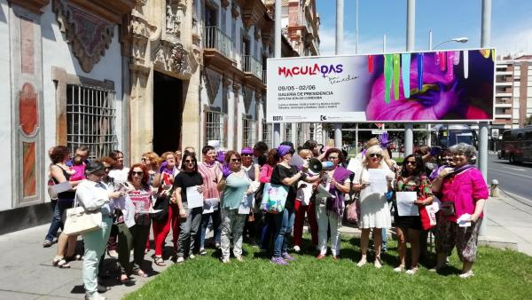 Córdoba.- Feministas exigen a la derecha que cesen sus 'discursos de odio' y a Diputación que defienda 'Maculadas'