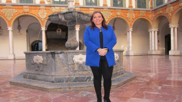 La vicepresidenta segunda de la Diputación, Ana Carrillo.