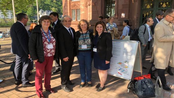 Elizalde participa en Alemania en la Conferencia Internacional sobre la Acción Climática