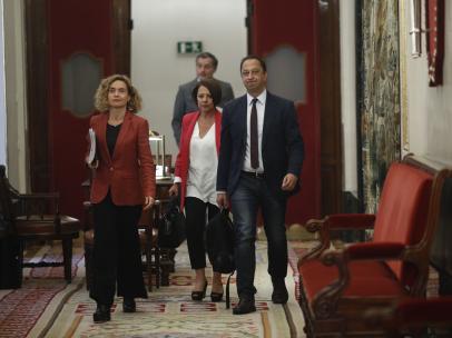 Reunión de la Mesa del Congreso de los Diputados.