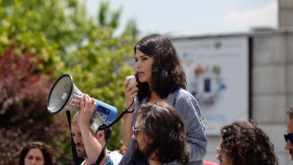 26M.- Isa Serra Apoya A Los Médicos En Huelga Porque 'Son Quienes Defienden Servicios Públicos Contra La Degradación'