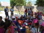 Granada.- Puertos.- Escolares conocen el funcionamiento del Puerto de Motril