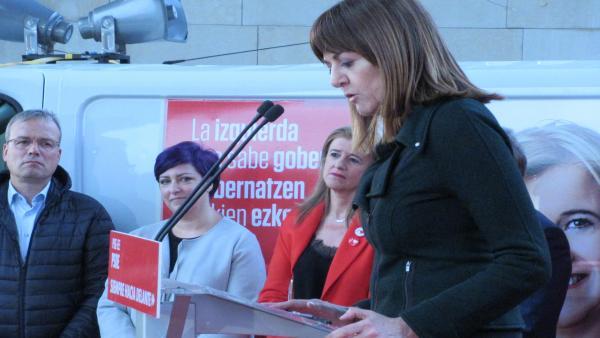 26M.- Mendia: 'solo los socialistas podemos asegurar la presencia en todos los gobiernos que toman decisiones'