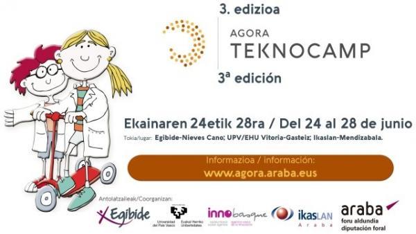 Abierto el plazo de inscripción para participar en el campamento de verano de ciencia y tecnología, Agora TeknoCamp