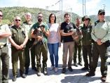 Granada.- La Junta libera dos nuevos pollos de quebrantahuesos en la Sierra de Castril