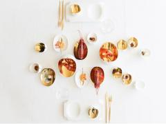 Los diseños de Cookplay (aquí, la colección Jomon), para disfrutar comiendo.