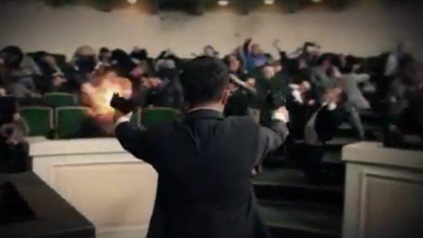 Un partido búlgaro usa un montaje de una matanza de diputados para las elecciones europeas