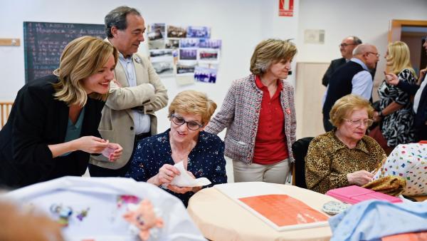 Carcedo subraya el compromiso del PSOE con la atención a los mayores, 'muy deteriorada tras los años de recortes del PP'