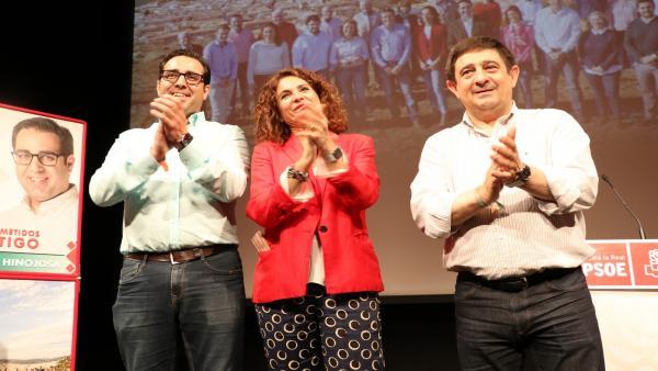 Jaén.- 26M.- Montero pide a la ciudadanía que 'revalide y mejore' la victoria del PSOE en Alcalá la Real