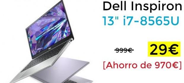 Oferta de Chollometro de un portátil Dell a 29 euros