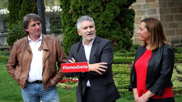 26M.- Grande-Marlaska Reitera Su Compromiso Con La Apertura De La Cárcel Y La Nueva Comisaría En Soria