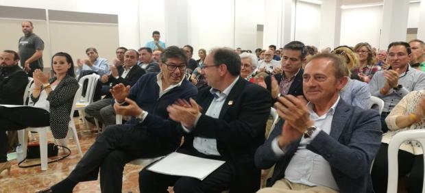 26M.- Aliaga Dice Que Cuanta Mayor Representación Obtenga El PAR En Teruel Más Proyectos Llegarán A Este Territorio