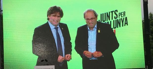 26M.- Puigdemont Pide 'Volver A Hacer Un 1-O' En Las Elecciones Y Cree Poder Derrotar A Borrell