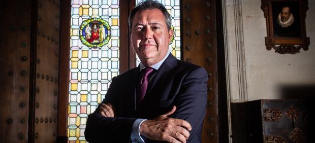 Juan Espadas, alcalde y candidato del PSOE