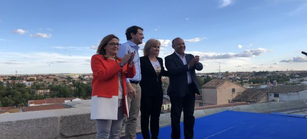 26M.- Mañueco Pide A Los Suyos Que No Se Distraigan Con Las Encuestas 'Ni Con Cambios De Chaqueta De Última Hora'