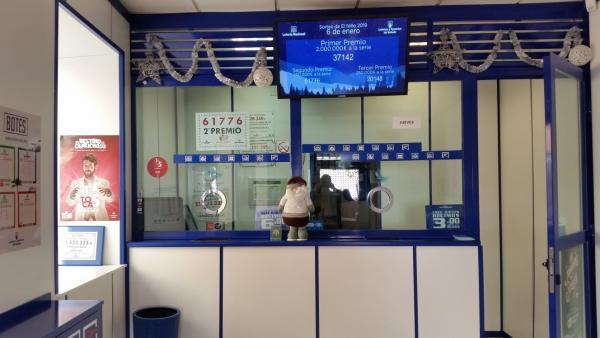 Delegación de lotería en Ávila