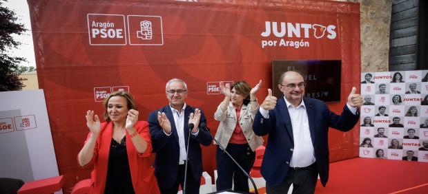 26M.- Lambán: 'Sánchez Podrá Desarrollar Su Programa Si En Comunidades Y Ayuntamientos Se Eligen Gobiernos Socialistas'