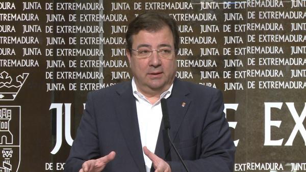 Vara en rueda de prensa este martes en Mérida