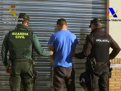 Desarticulada a una banda de narcos en Huelva