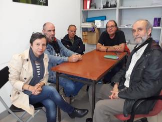 26M-M.- Gijón.- La Asociación De Parados Y Precarios Pide Al Próximo Gobierno Que Cumpla La Promesa De Cederles Un Local