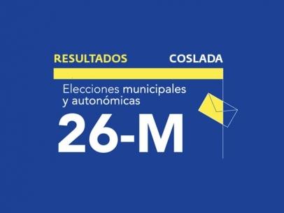 Resultados en Coslada de las elecciones municipales 2019