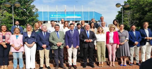 Cádiz.- 26M.- Moreno respalda a Landaluce para revalidar la Alcaldía de Algeciras: 'Es un referente del municipalismo'