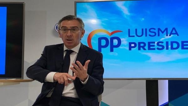 26M.-Beamonte (PP) Dice Que Estaría 'Encantado' De Plantear Cs Y PAR Una Alternativa 'Al Gobierno Radical De Izquierdas'