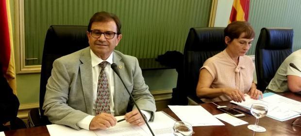 Llorenç Huguet, rector UIB