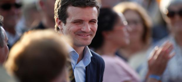26M.- Casado ataca a Cs por no aclarar su política de pactos y llama a la movilización en torno al PP, partido 'original