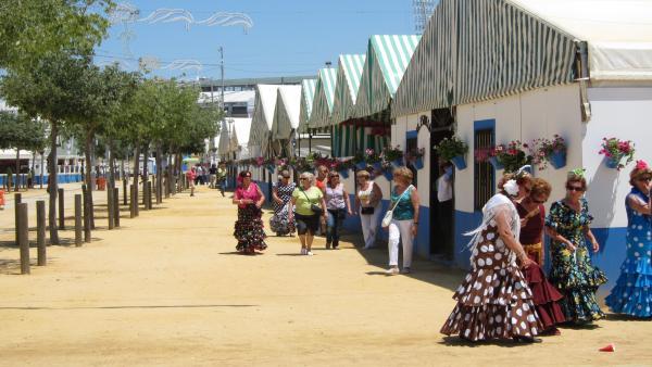 Casetas En La Feria De Nuestra Señora De La Salud De Este Año