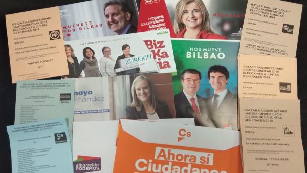 26M.- Un Total De 1.723.052 Electores Podrán Votar En Las Elecciones Municipales Y Forales En Euskadi